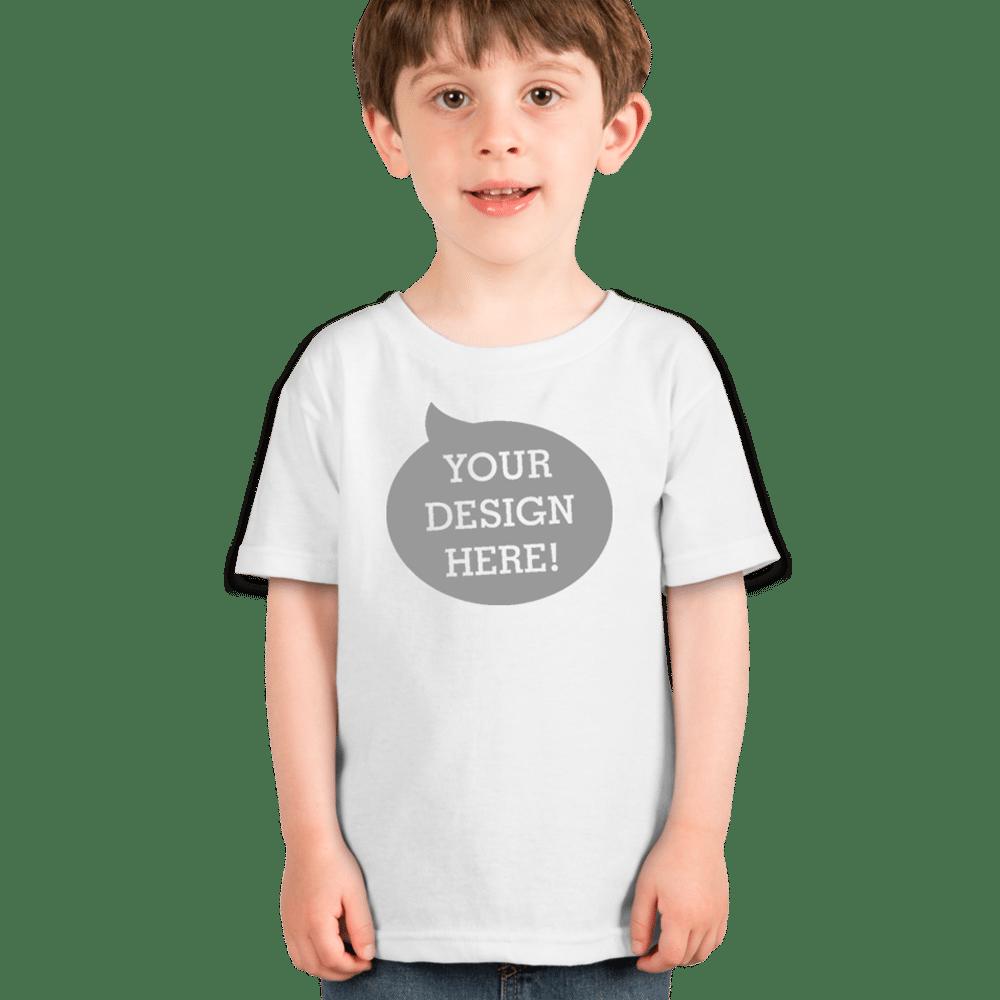 Gildan toddler 100 cotton t shirt 5100p tbsp la for Toddler t shirt printing